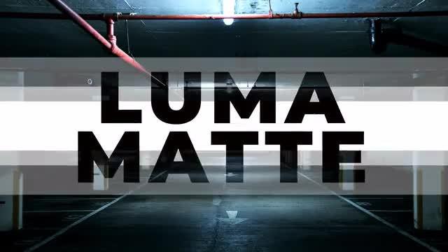 15 Luma Matte Modern Transitions: Stock Motion Graphics