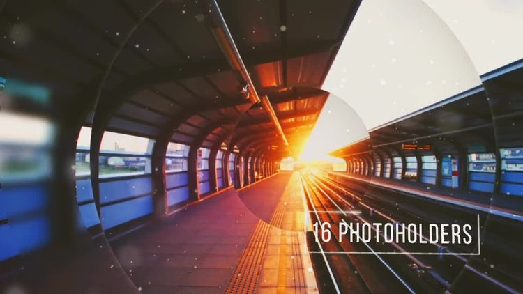 Cinematic Parallax Slideshow: After Effects Templates