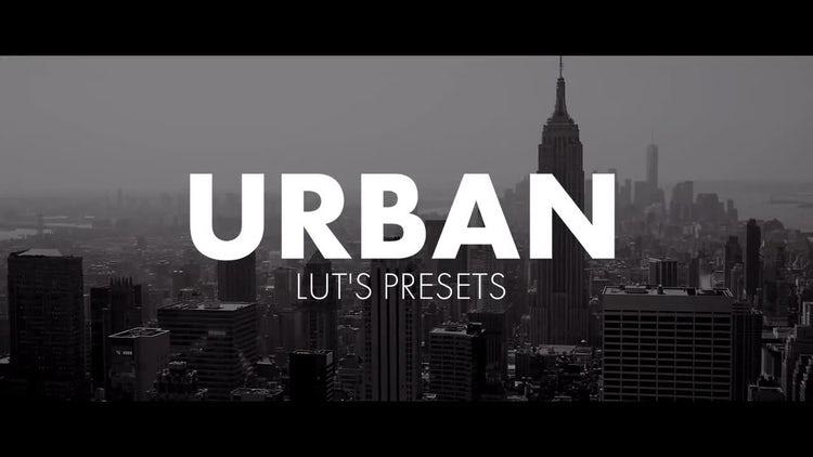 Urban LUT's: Premiere Pro Presets