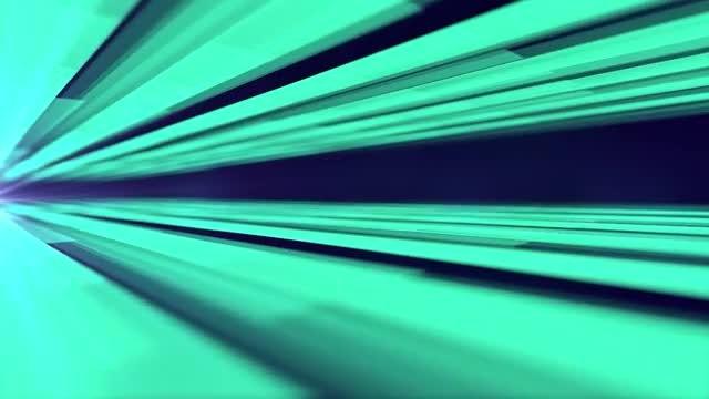 Green Beams: Stock Motion Graphics