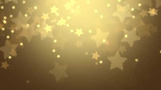 Falling Stars Christmas Background: Stock Motion Graphics