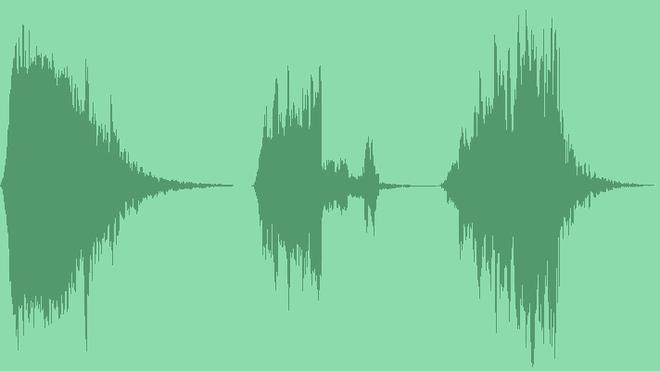 Glitch Texture Logo: Sound Effects