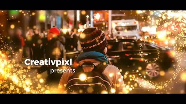 Particle Slideshow: Premiere Pro Templates