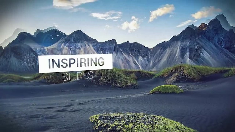 Inspiring Parallax Slideshow: After Effects Templates