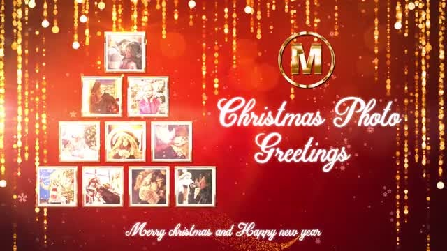 Christmas Photo Greetings: After Effects Templates