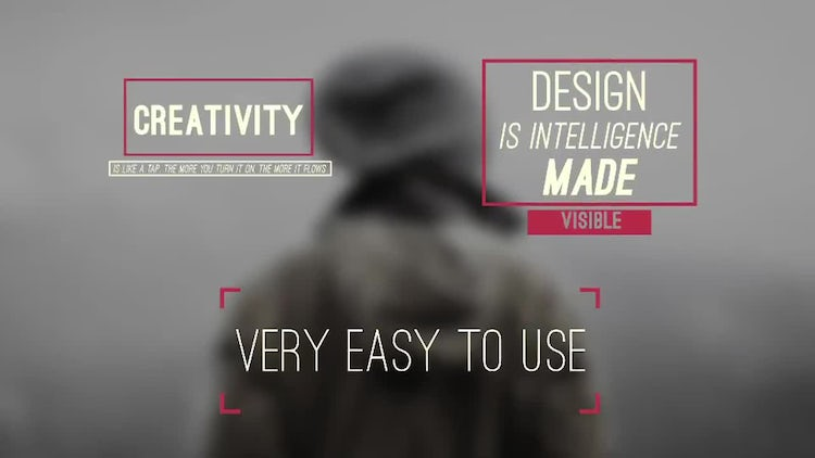 21 Easy Titles: After Effects Templates