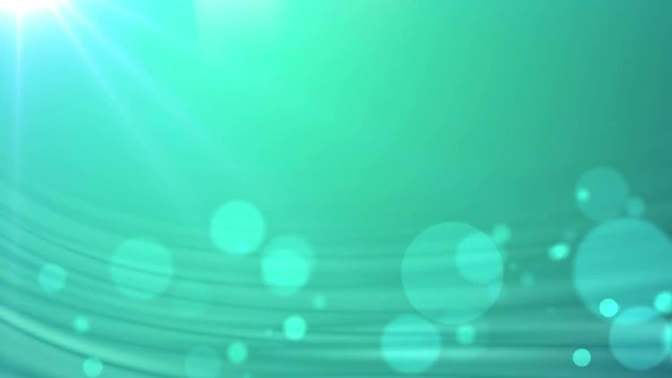 Green Fractal and Particles: Motion Graphics