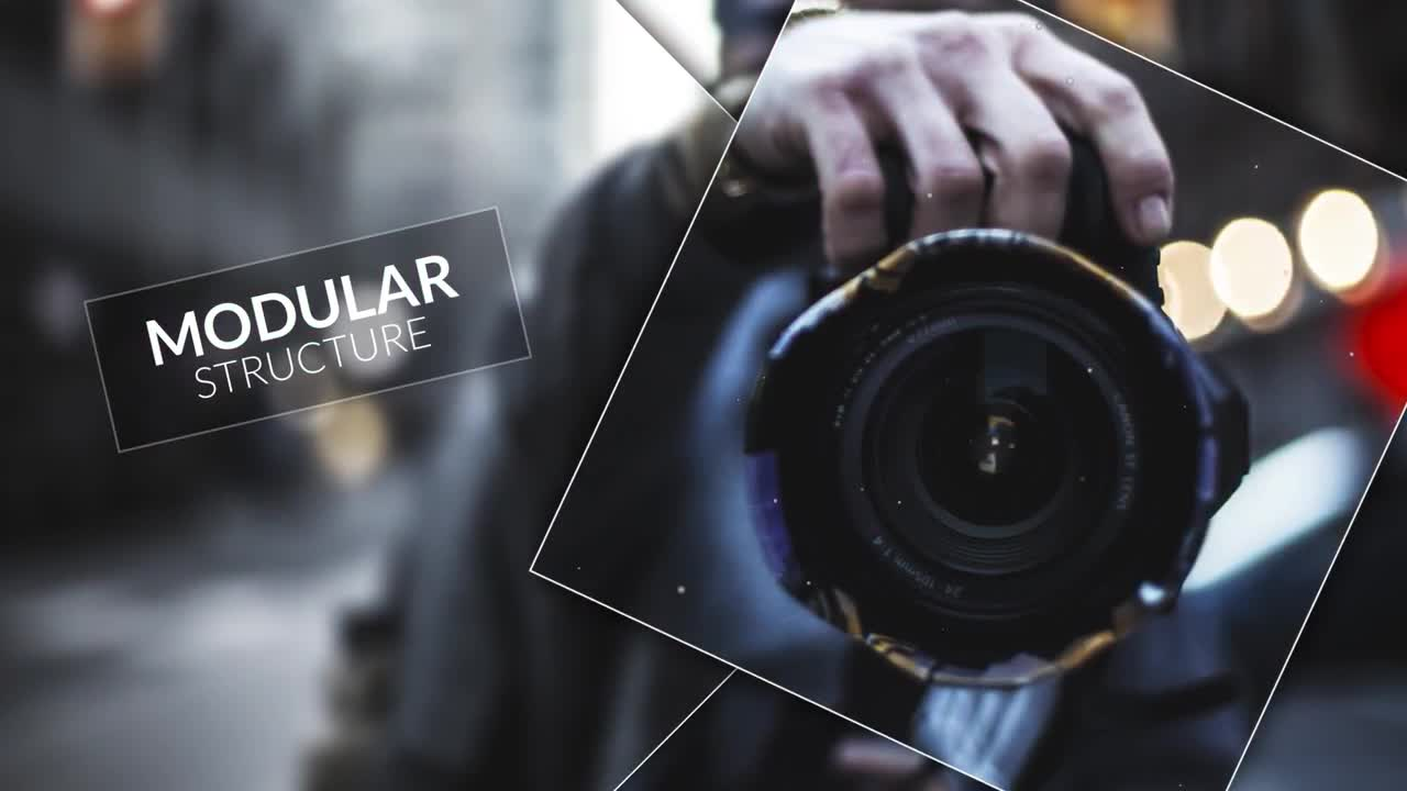 Square Smooth - Slideshow - After Effects Templates   Motion
