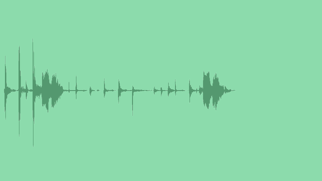 Percussive Logo: Royalty Free Music