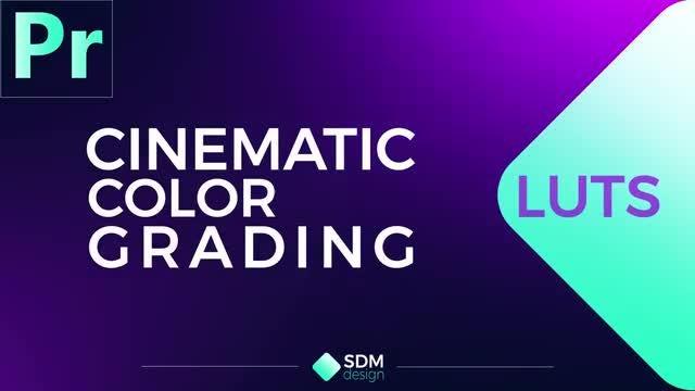 Cinematic Color Luts: Premiere Pro Presets