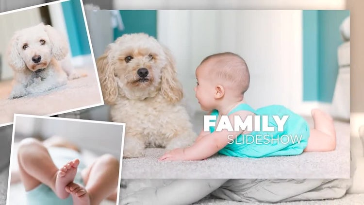 Family Slideshow: After Effects Templates