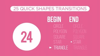 Quick Shapes Transitions: Motion Graphics