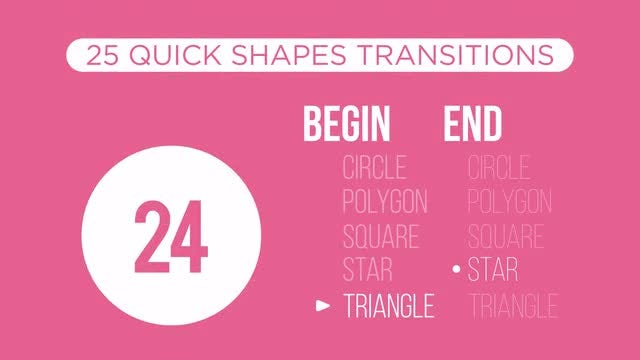 Quick Shapes Transitions: Stock Motion Graphics