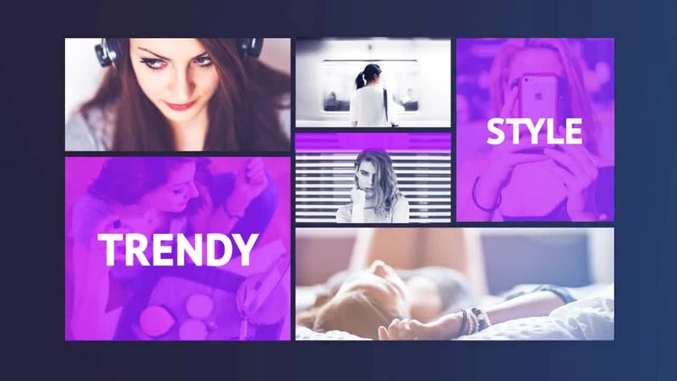 Modern Fashion: After Effects Templates
