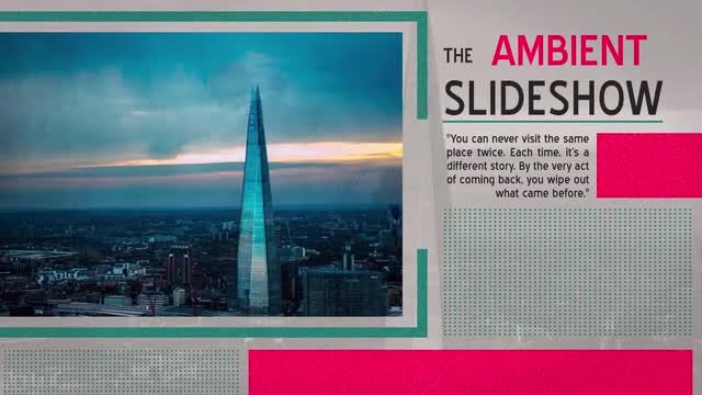 Ambient Slideshow: After Effects Templates