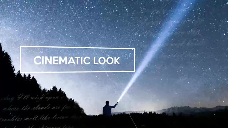 Inspirational Layered Slideshow: After Effects Templates