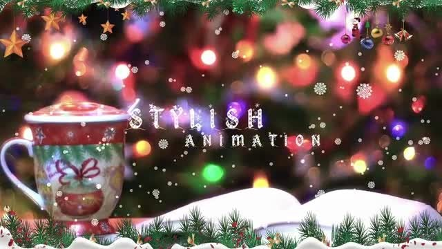 Christmas Slide Show: After Effects Templates