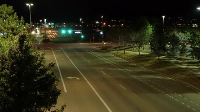 Time-Lapse Of Traffic: Stock Video