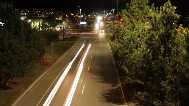 Light Trails: Stock Video