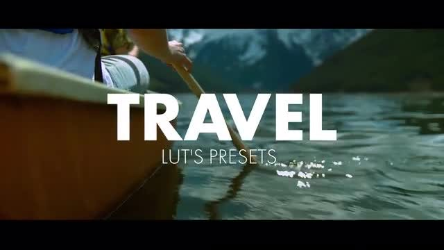Travel LUT's: Premiere Pro Presets