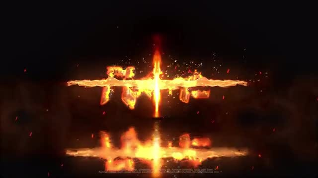 Fire Logo: After Effects Templates