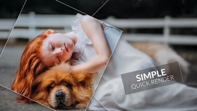 Square Smooth - Slideshow: Premiere Pro Templates