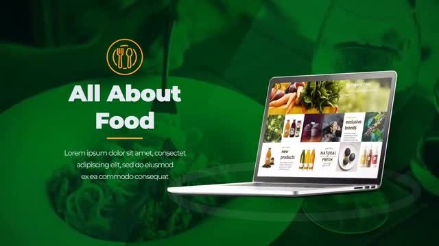 Food Store & Delivery - After Effects Templates | Motion Array