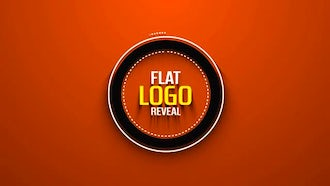 Flat Logo Reveal: After Effects Templates