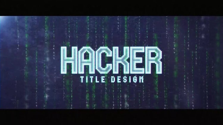 Hacker: After Effects Templates