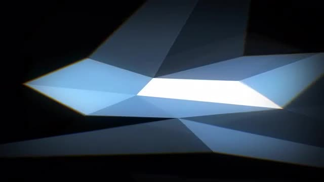 Facets Background: Stock Motion Graphics