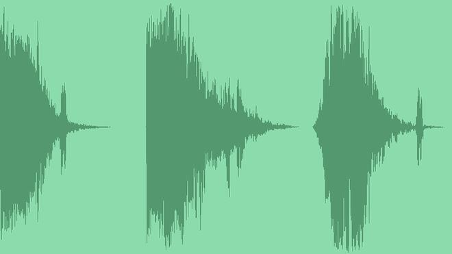 Deep Glitch Logo: Sound Effects