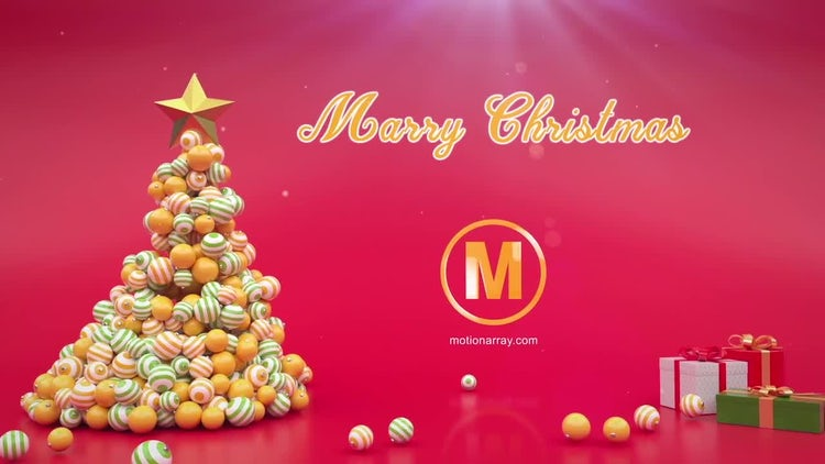 Xmas Tree Logo: After Effects Templates