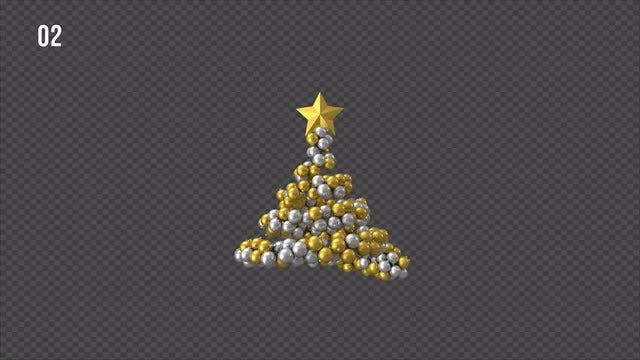 Ornament Christmas Tree Pack: Stock Motion Graphics