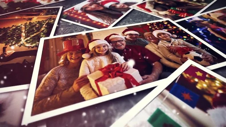 Christmas Slideshow: After Effects Templates