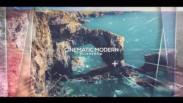 Cinematic Modern Slideshow: Premiere Pro Templates