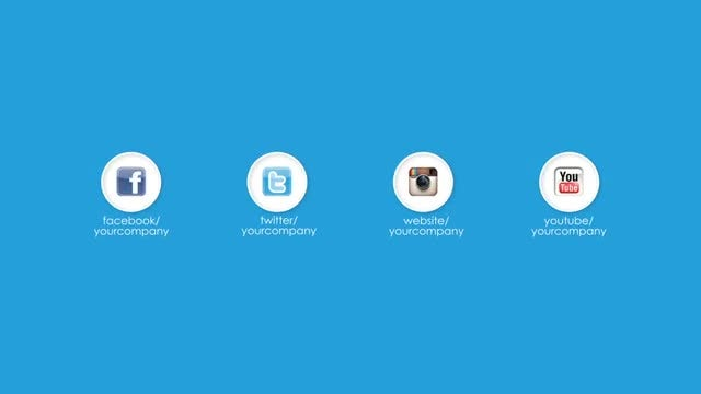 Social Logo Opener: After Effects Templates