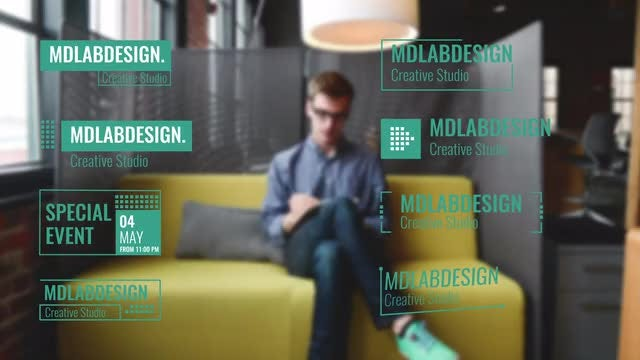 Cube Corporate Lower Thirds: After Effects Templates