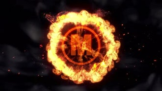 Fire Explosive Logo: After Effects Templates