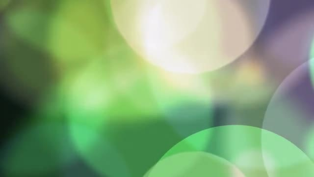 Particle Bokeh: Stock Motion Graphics