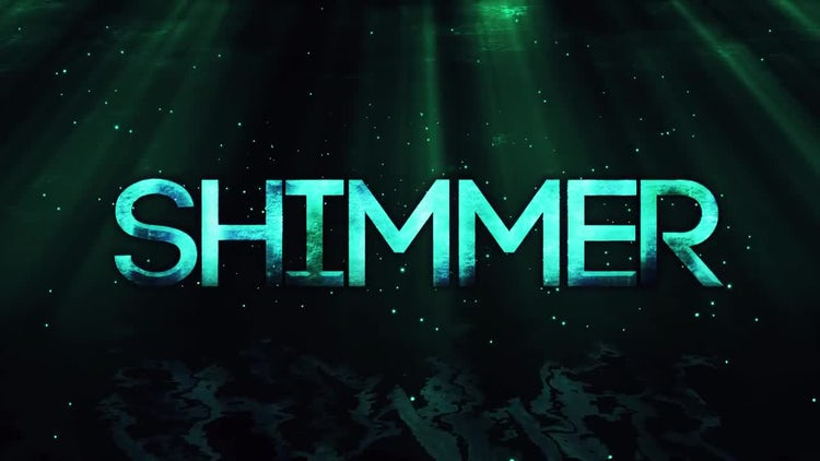 Shimmer Title Reveal: After Effects Templates