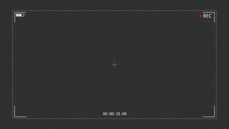 Camera Recording Screen: Motion Graphics