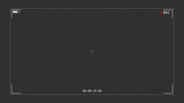 Camera Recording Screen: Stock Motion Graphics