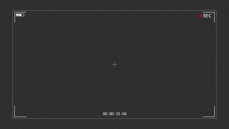 Camera Recording Screen - Stock Motion Graphics | Motion Array