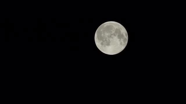 Full Moon Time Lapse: Stock Video