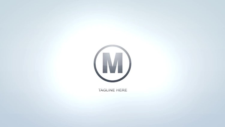 Tagline Logo Reveal: After Effects Templates