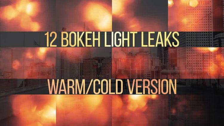 Bokeh Light Leaks Pack: Motion Graphics