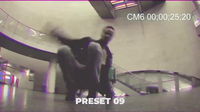 VHS Effect: Premiere Pro Presets