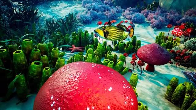 Underwater- Blue World 2: Stock Motion Graphics
