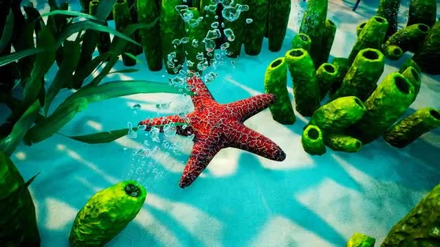 Underwater - Blue World 3: Stock Motion Graphics