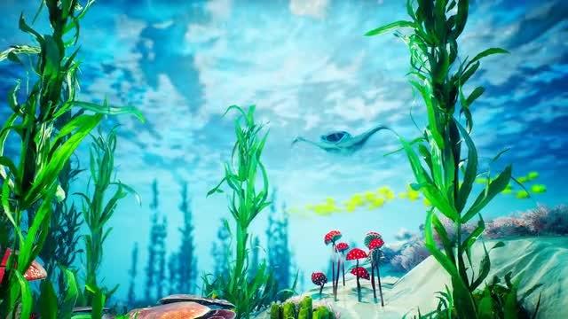 Underwater - Blue World 4: Stock Motion Graphics